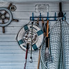 "April 6 - Must Have Houseboad Essentials - saw these things hanging up on the ""porch"" of the houseboat in my earlier pictures.  The barbecue utensils may be the most important amount all of them."