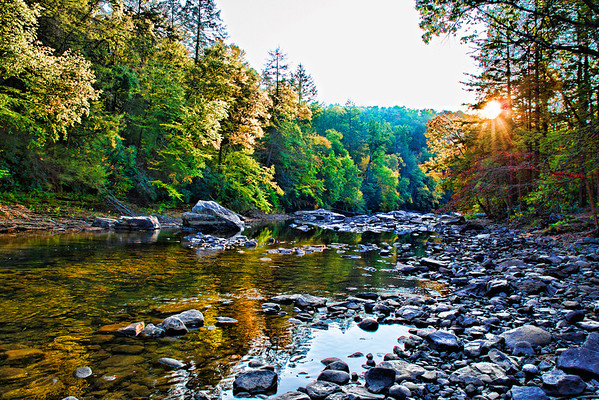 Oct 16 - Early Fall Color at Audry State Park, West Virginia