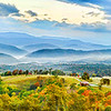 "Oct 18 - Early Fall Mountain Layers in Germany Valley, West Virgina<br /> <br /> This is a three image panoramic ""stitch""."