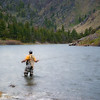 May 20 - A Fish Will Rise<br /> <br /> This is an image of my son fly fishing the Madison River in Montana in Bear Trap Canyon.  He is a third year chemical engineering major at Montana State University in Bozeman (2000 miles away) where the fly fishing opportunities are fantastic!  Luckily, his love for fly fishing does not interfere with his studies as he continues to maintain a 3.8 GPA!  He has also been fortunate enough to obtain his private pilot's license and instrument rating  at the same time!  We are so proud of him!<br /> <br /> Thanks for your comments on my horse image yesterday - I appreciate all the comments and honest criticism!