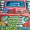 Oct 27 - The Old Red Truck