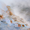 May 21 - Morning Steam at Mammoth Hot Springs, Yellowstone<br /> <br /> A more traditional image of some of the hot spring's colors and steam<br /> <br /> Thanks so much for your comments on my fly fishing image I posted yesterday!