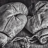 Feb 11 - Once Upon A Time<br /> <br /> Another still life with my father in law's old boxing gloves he had as a kid.  These are pretty worn mostly from the age of the leather - unfortunately they are dry rotted in some places.<br /> <br /> Thank you so much for the nice response and comments on my still life I posted yesterday.  They are very much appreciated!