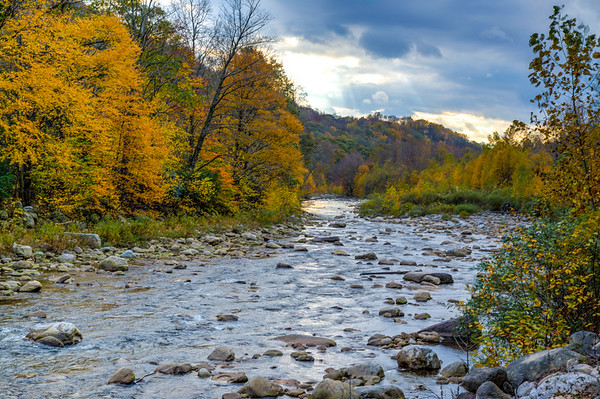 Oct 19 - Red Creek near Dolly Sods West Virginia with some fall colors
