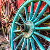 April 17 - Painted Wagon Wheels<br /> <br /> Thanks so much for your comments on my Springtime Creek image I posted yesterday.