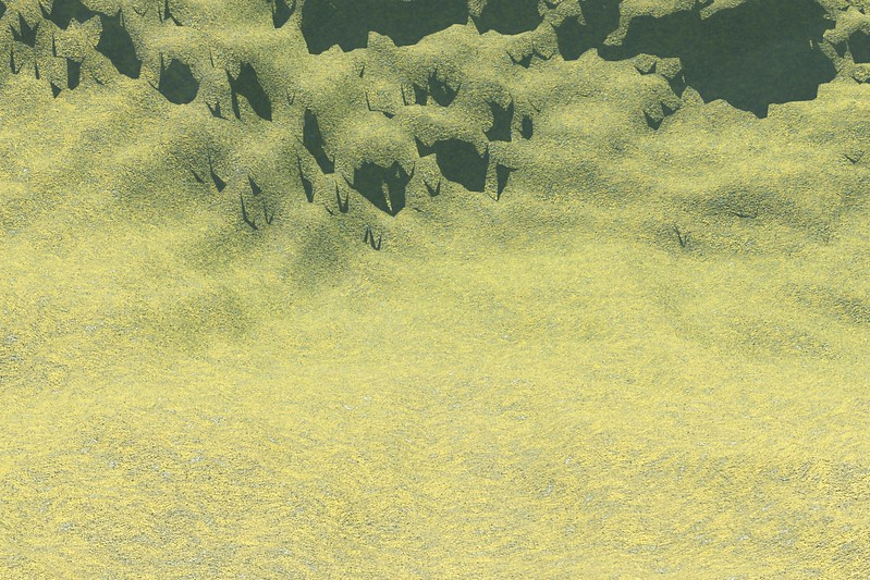Forest Island 31 : A Computer Generated Image from Daily Animation