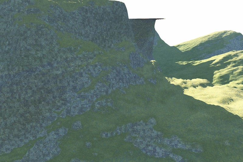 Forest Island 17 : A Computer Generated Image from Daily Animation