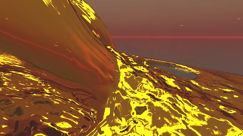Gold Island 30 : A Computer Generated Image from Daily Animation