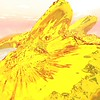 Gold Island 12 : A Computer Generated Image from Daily Animation