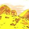 Gold Island 5 : A Computer Generated Image from Daily Animation