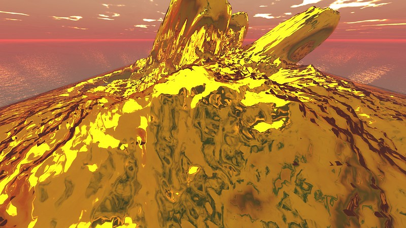 Gold Island 13 : A Computer Generated Image from Daily Animation