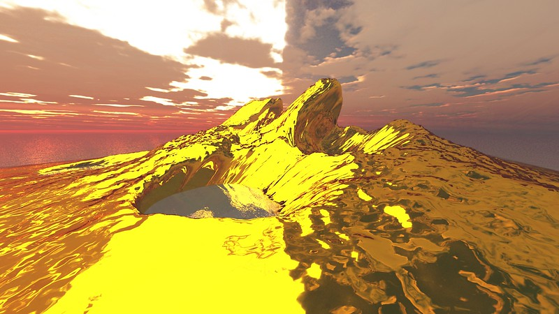 Gold Island 8 : A Computer Generated Image from Daily Animation