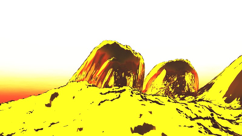 Gold Island 2 : A Computer Generated Image from Daily Animation