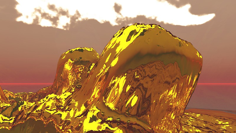 Gold Island 33 : A Computer Generated Image from Daily Animation