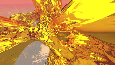 Gold Island 20 : A Computer Generated Image from Daily Animation