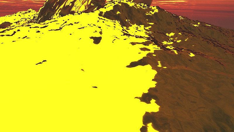 Gold Island 3 : A Computer Generated Image from Daily Animation