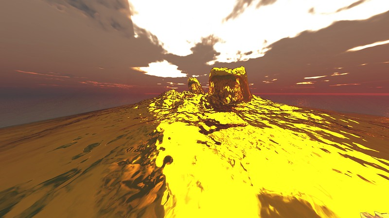 Gold Island 15 : A Computer Generated Image from Daily Animation