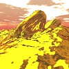 Gold Island 7 : A Computer Generated Image from Daily Animation