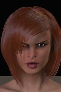February 2016 Female Face CGI Render 5