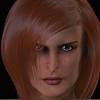 February 2016 Female Face CGI Render 2