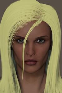 January 2016 Female Face CGI Render 6