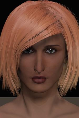 January 2016 Female Face CGI Render 7