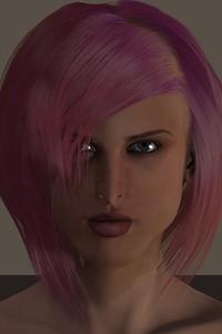 January 2016 Female Face CGI Render 4