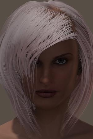 January 2016 Female Face CGI Render 5