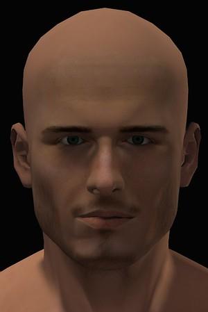 2016 Male Head Study Render 2