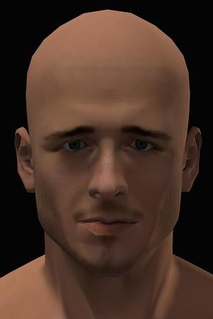 2016 Male Head Study Render 7