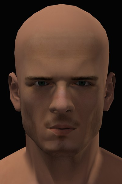 2016 Male Head Study Render 1