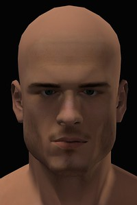 2016 Male Head Study Render 3