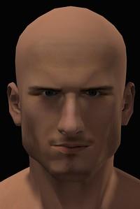 2016 Male Head Study Render 6