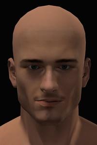 2016 Male Head Study Render 5