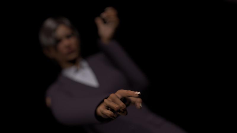 Business Woman Scene Multiple Rigging CGI Render 20