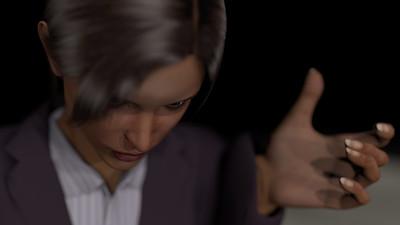 Business Woman Scene Multiple Rigging CGI Render 23