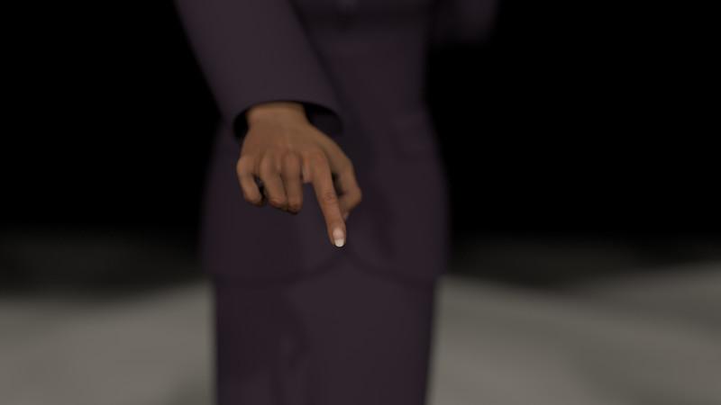 Business Woman Scene Multiple Rigging CGI Render 18
