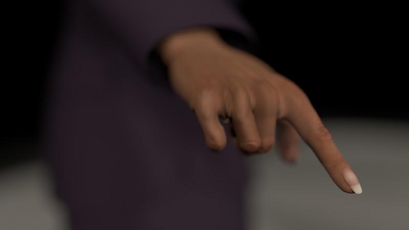 Business Woman Scene Multiple Rigging CGI Render 19