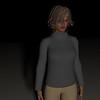 Casual Woman Pose 4 CGI Render 16