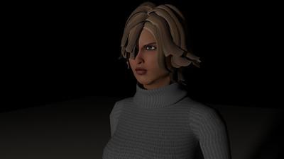 Casual Woman Pose 4 CGI Render 19
