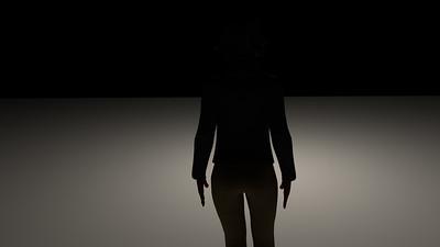 Casual Woman Pose 4 CGI Render 12