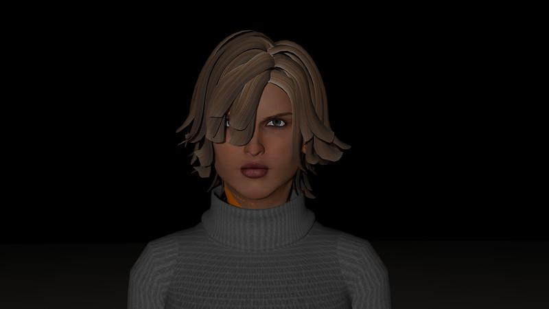 Casual Woman Pose 4 CGI Render 1