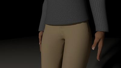 Casual Woman Pose 4 CGI Render 20