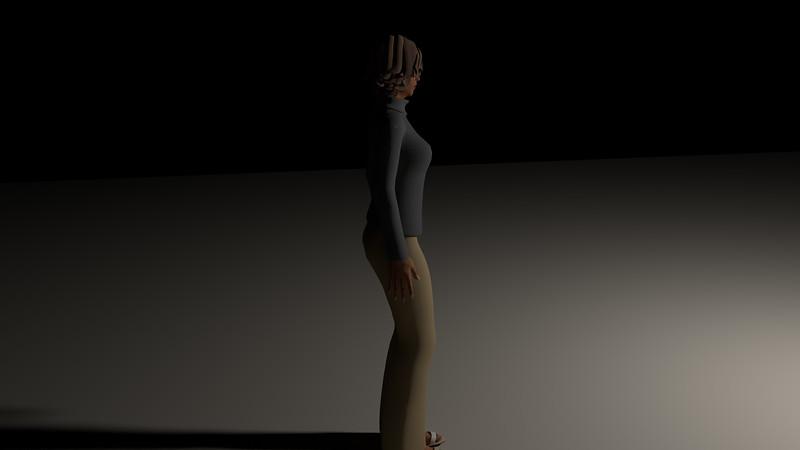 Casual Woman Pose 4 CGI Render 14