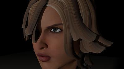 Casual Woman Pose 4 CGI Render 2