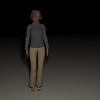 Casual Woman Pose 4 CGI Render 17