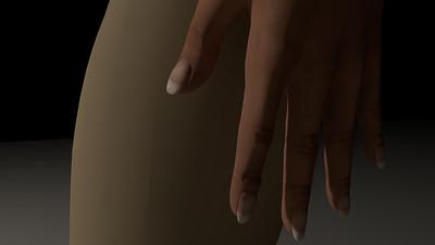 Casual Woman Pose 4 CGI Render 22