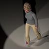 Casual Woman Pose 3 CGI Render 18