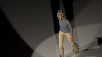 Casual Woman Pose 3 CGI Render 16