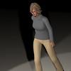 Casual Woman Pose 3 CGI Render 17